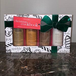 Philosophy Christmas Cookbook Shampoo Set